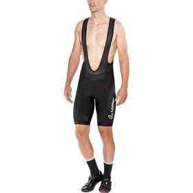 Löffler Winner Spodnie na szelkach Mężczyźni, black